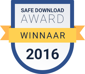 Winnaar Download Award 2016 categorie veilig downloaden