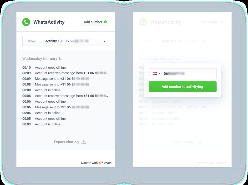 WhatsActivity: Tracker voor activiteit van WhatsApp meelezen