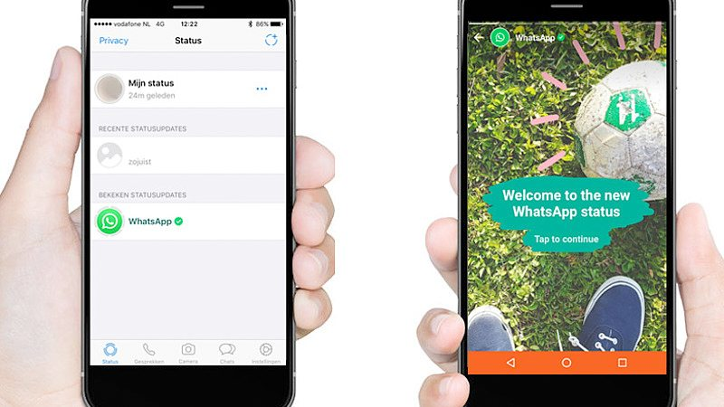WhatsApp Stories: Nieuwe statusfunctie update van WhatsApp